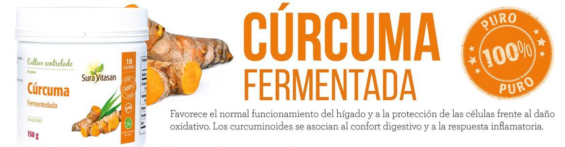 Curcuma fermentada