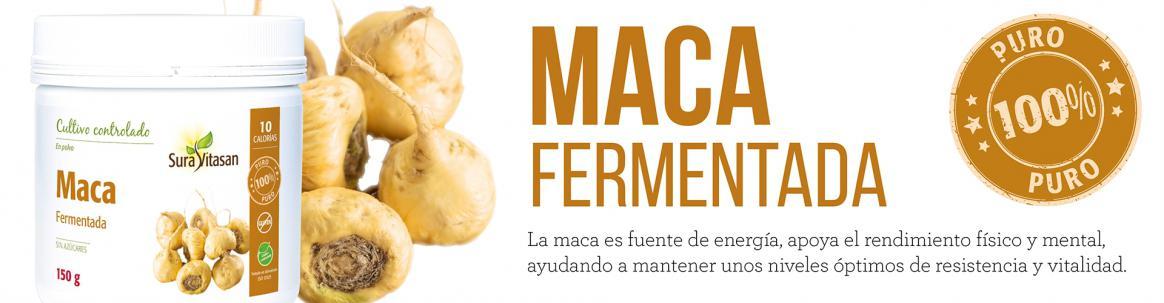 Maca fermentada