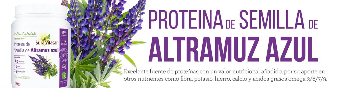 Proteína de Semilla de Altramuz