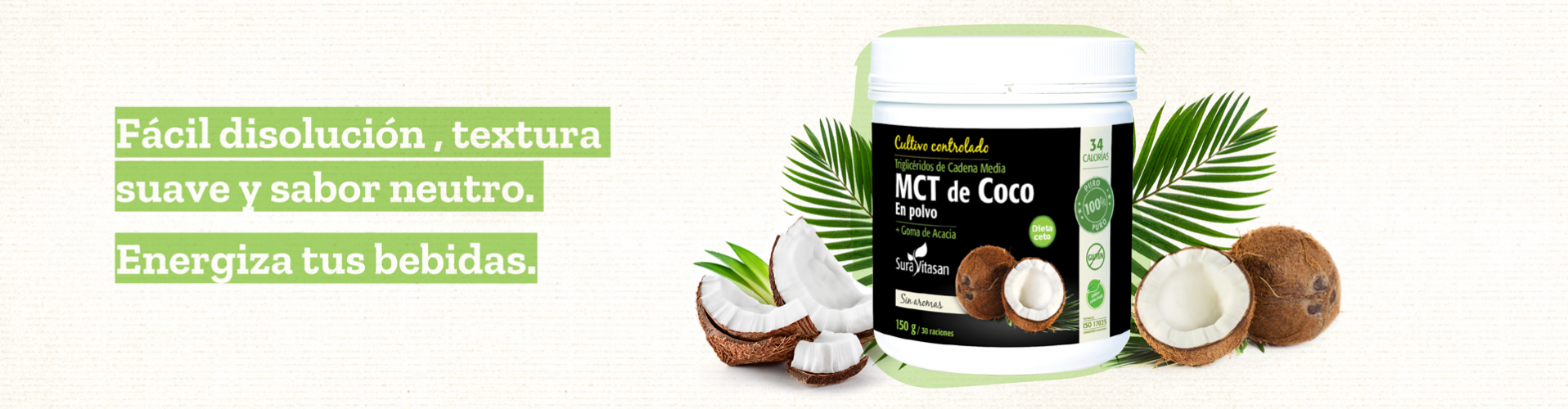 MCT Coco Polvo