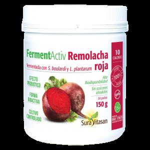 Remolacha roja fermentada