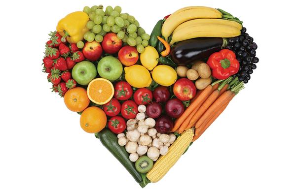 Corazón alimentos