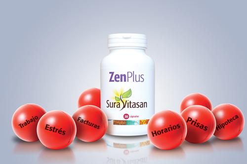 Foto bote ZenPlus con bolas antiestrés